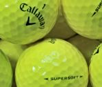 Callaway Supersoft Gelb